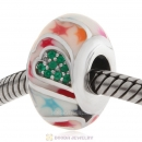 European Style Love Bead 925 Sterling Silver with Enamel