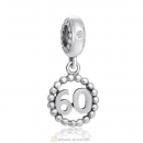 Number 60 Dangle Charm