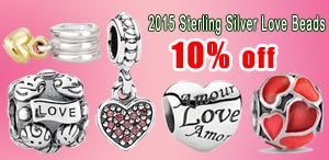2014 Christmas Sterling Silver Beads