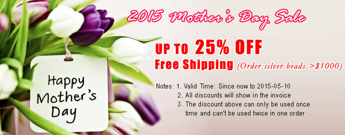 2015 Mother Day Sale